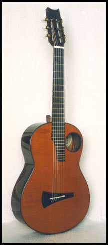 classical guitar Redwood top